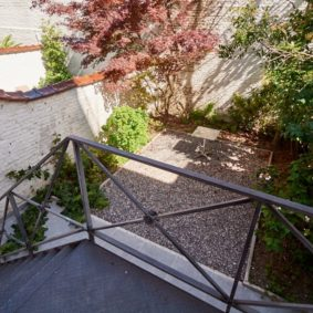 lovely terrace and garden in a shared house for expats in Brussels