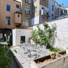 Fully renovated house (2020) of 250 m² in Etterbeek comprising 7 comfortable fully furnished bedrooms (16-25m²) with private bathroom