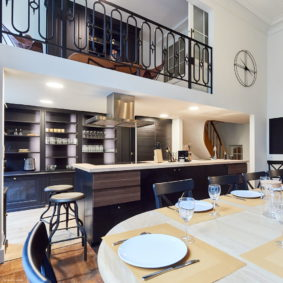 shared house decorated with style for expats in Brussels
