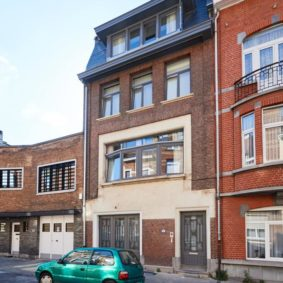 Fully renovated house (2020) of 350 m² in Schaerbeek comprising 8 comfortable fully furnished bedrooms (19-25 m²) with private bathroom