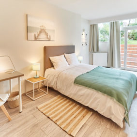 spacious and luminous room in a co-housing house for young professionals in Ixelles