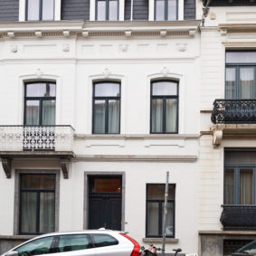 Fully renovated house (2020) of 220 m² in Etterbeek including 7 comfortable fully furnished bedrooms (16-25m²) with private bathroom