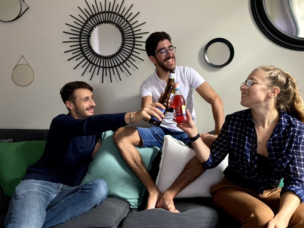 Cohabitation in the city center of Brussels with young expats in a renovated house