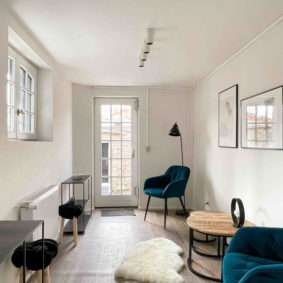 Chill room in huge stylish house close to the European Commission for expats English speaking in Etterbeek